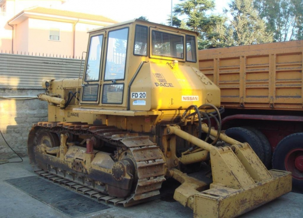 Fiat Allis Dozer Parts : Dozer fiat allis fd for spart parts